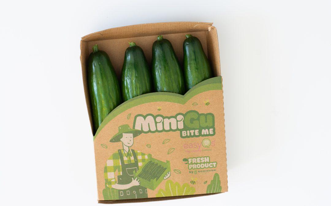 MiniGu®, el pepino mini de Ecoinver con genética EasyQs®