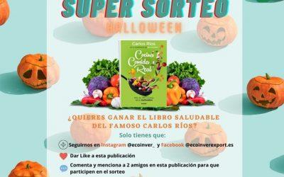 Súper Sorteo del libro «Cocina comida real» para 'realfooders' como Carlos Ríos